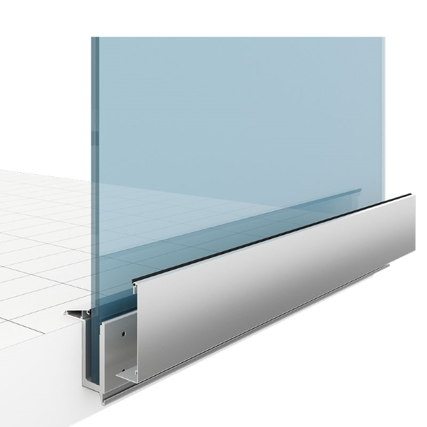 Balustrada sticla - Smart Premium Suspendat detaliu - SmartFenster
