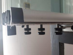 Glisant Pliant sticla 8 mm standard TANGO role negre