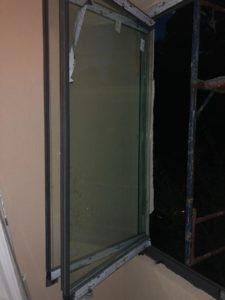 Glisant Pliant sticla 8 mm standard TIARA balcon deschis