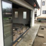Glisant pentru terasa cu geam termopan SLIDE MASTER cu 8 canate deschis
