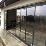 Glisant pentru terasa cu geam termopan SLIDE MASTER cu 8 canate intredeschis