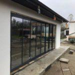Glisant pentru terasa cu geam termopan SLIDE MASTER inchis